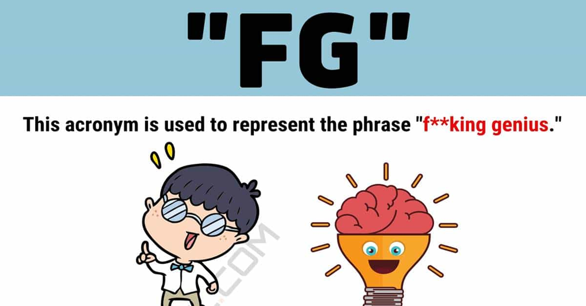 """""""FG"""" Meaning 