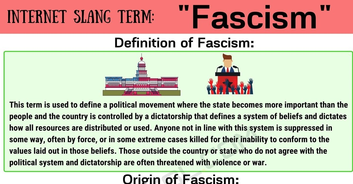 Fascism Meaning: The Definition of Fascism and How to Use It 1