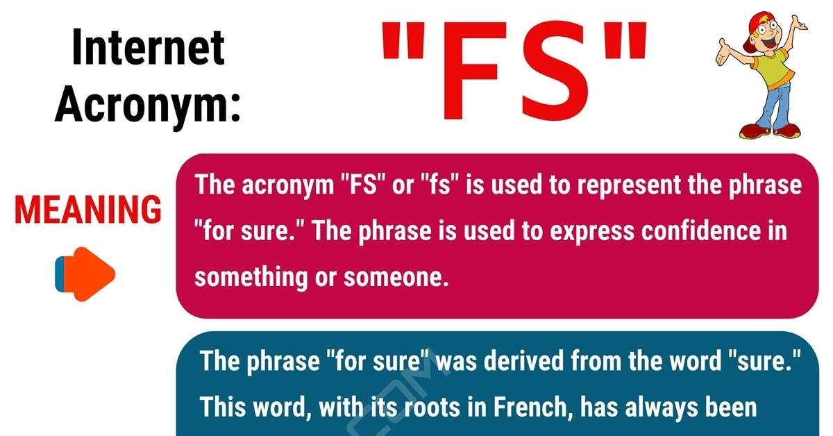 FS Meaning: What Does FS Stand For? (with Helpful Conversation Examples) 1