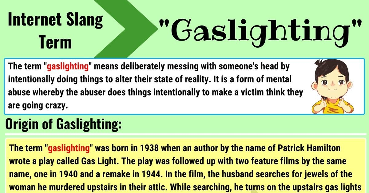 Gaslighting Meaning with Useful Conversations in English 1