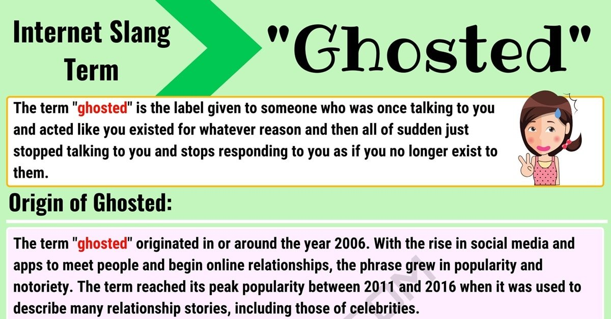 """Ghosted Meaning: What Does the Interesting Term """"Ghosted"""" Mean? 1"""