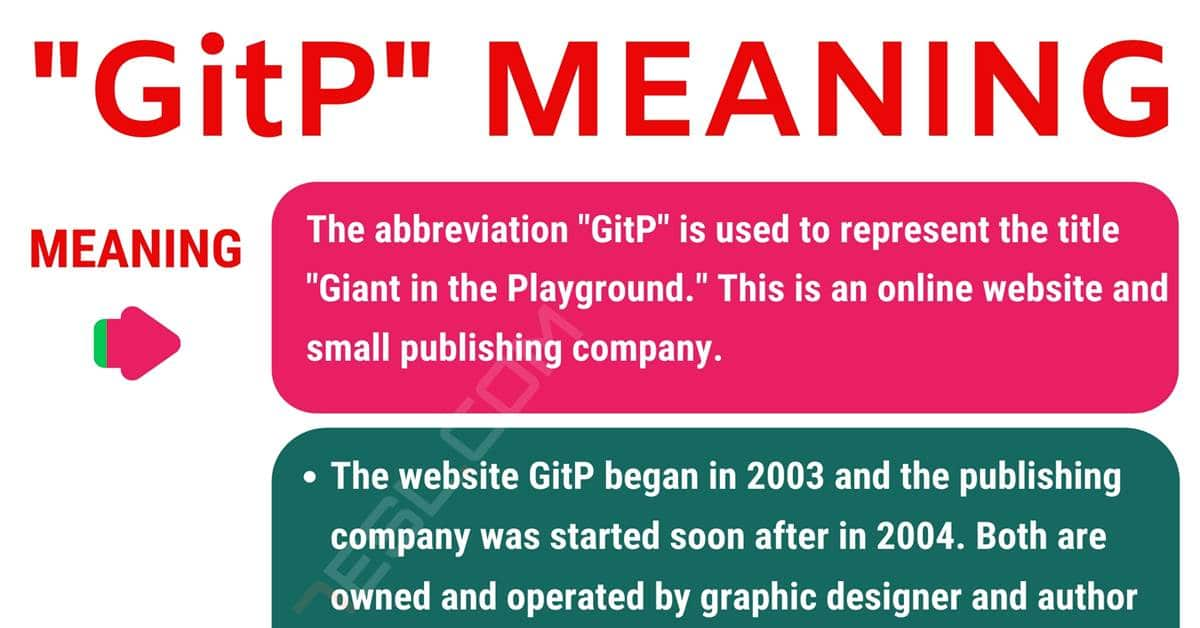 "GitP Meaning: What Does the Popular Term ""GitP"" Stand For? 1"