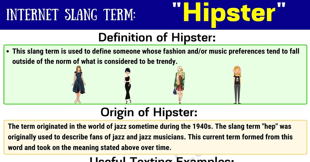 Hipster Meaning: How Do You Define the Slang Term 'Hipster'? 1