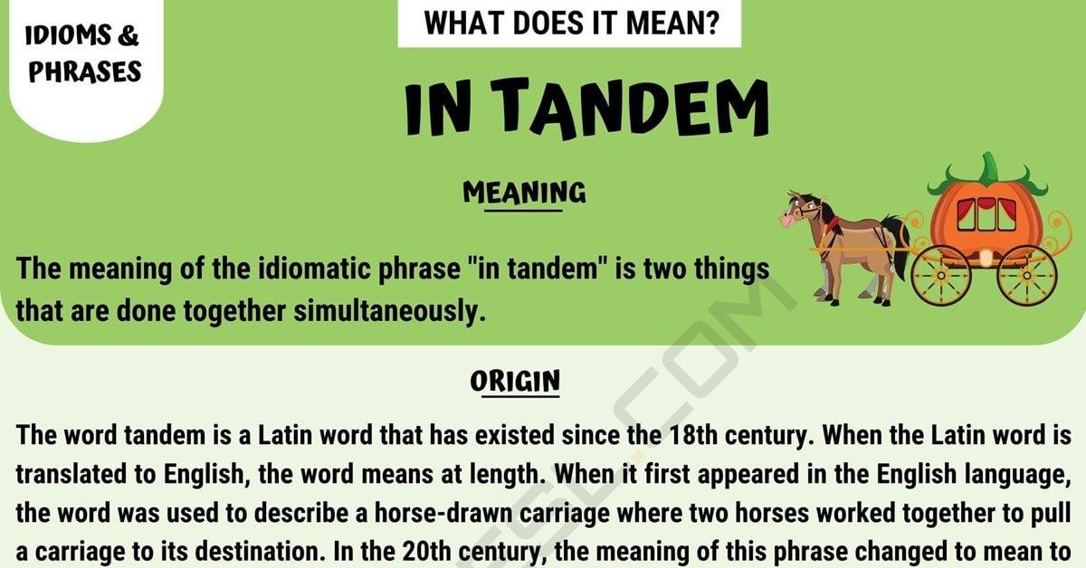 In Tandem