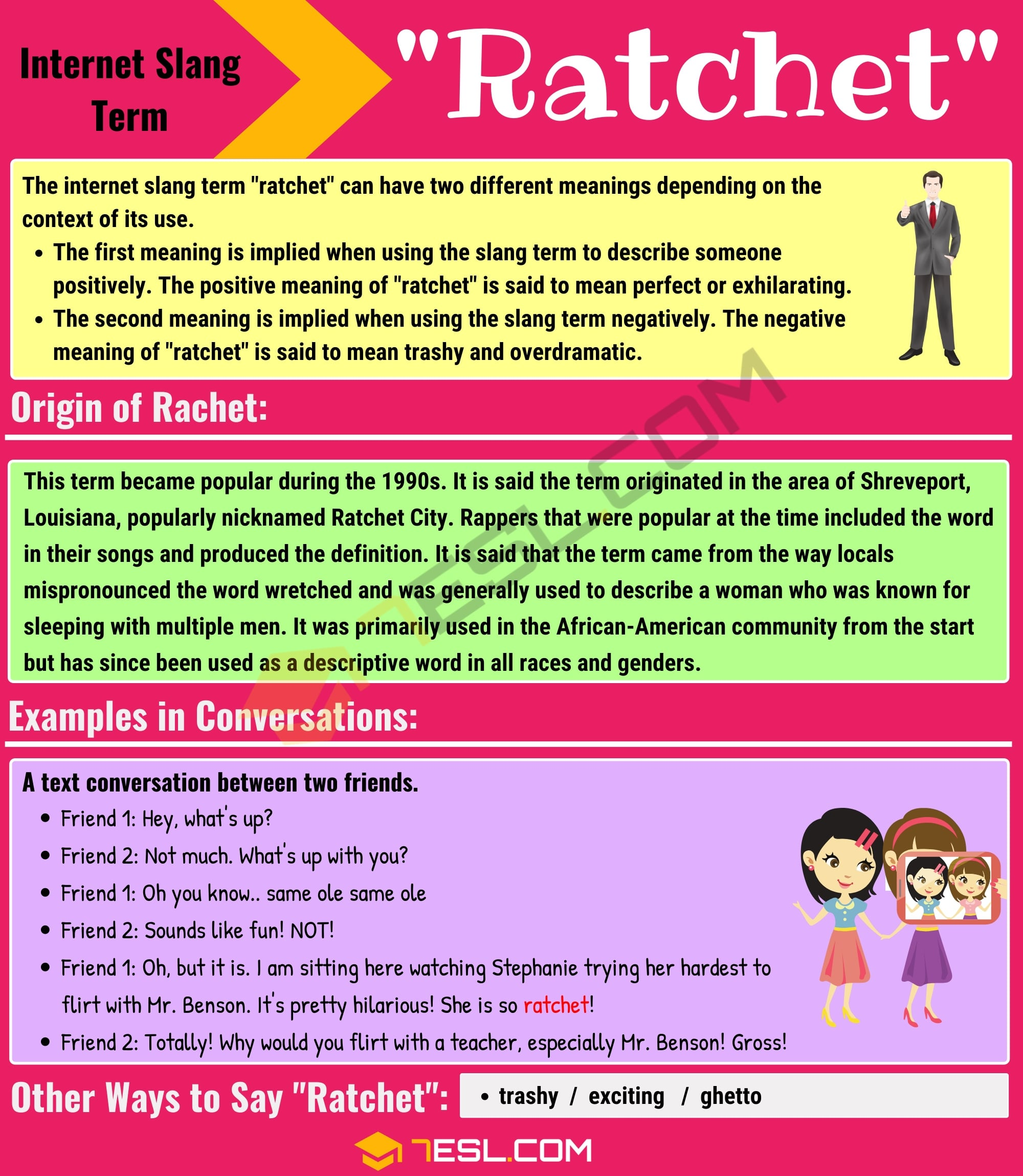 Ratchet Meaning: What Does Ratchet Mean? with Useful Examples 2