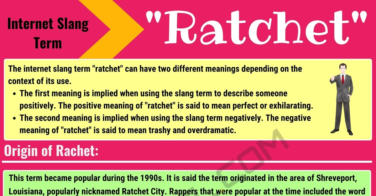 Ratchet Meaning: What Does Ratchet Mean? with Useful Examples 1