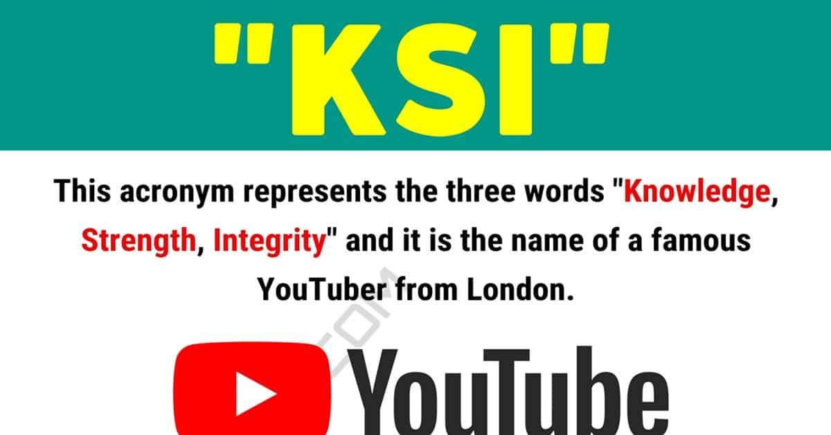 """KSI"" Meaning 