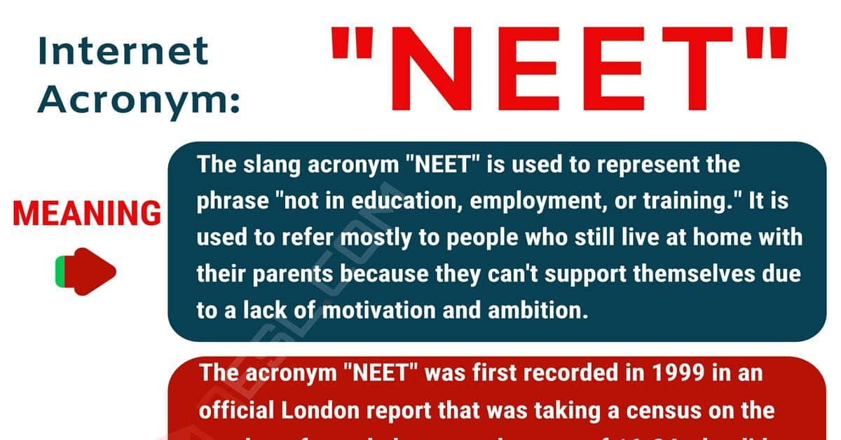NEET Meaning: What Does NEET Mean? with Useful Conversations 1