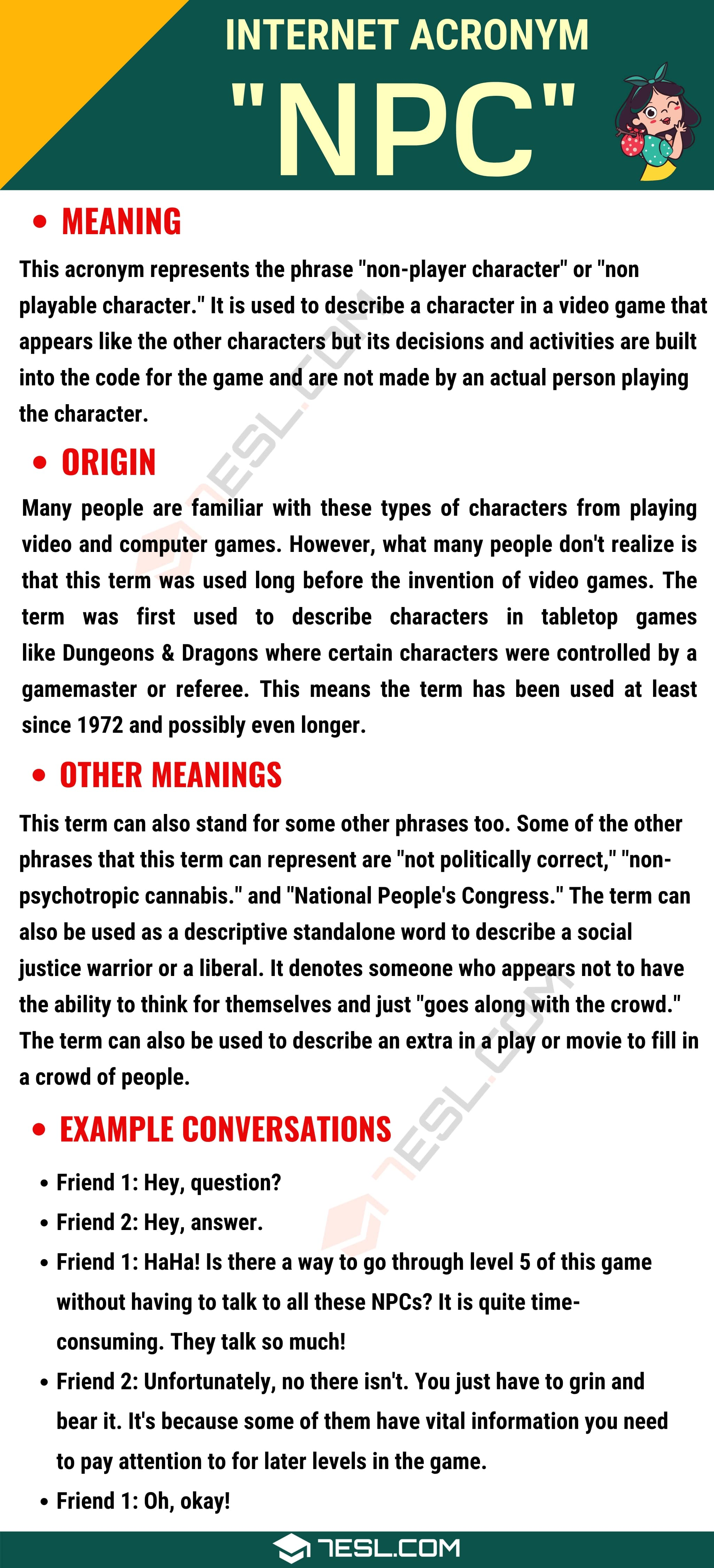 NPC Meaning: Do You Know What this Interesting Acronym Stands For?