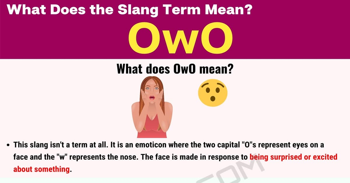 OwO Meaning: What Does 'OwO' Mean? 1