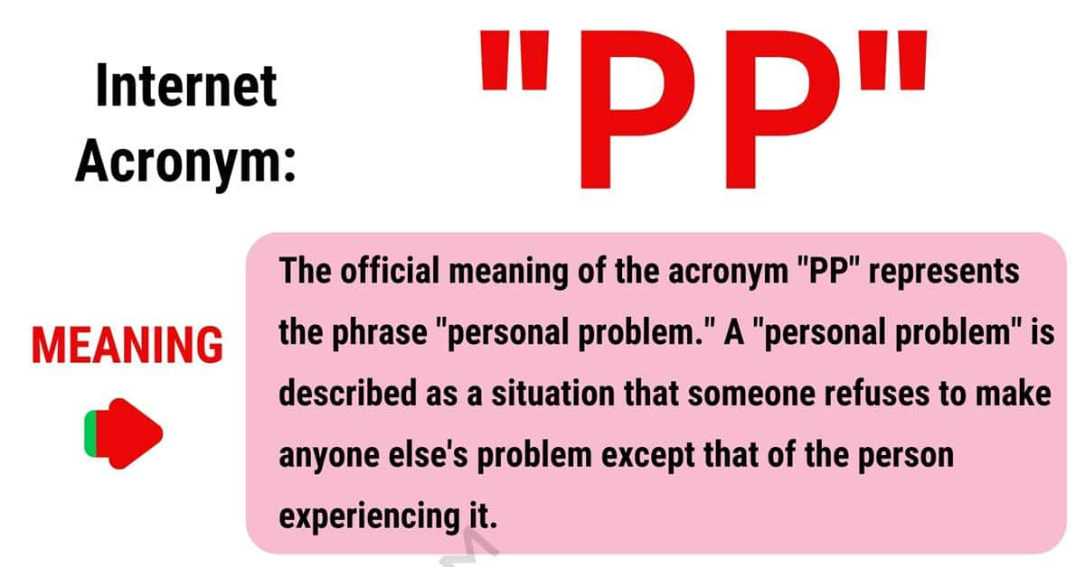 PP Meaning: The Definition of PP and How to Use It Correctly? 1