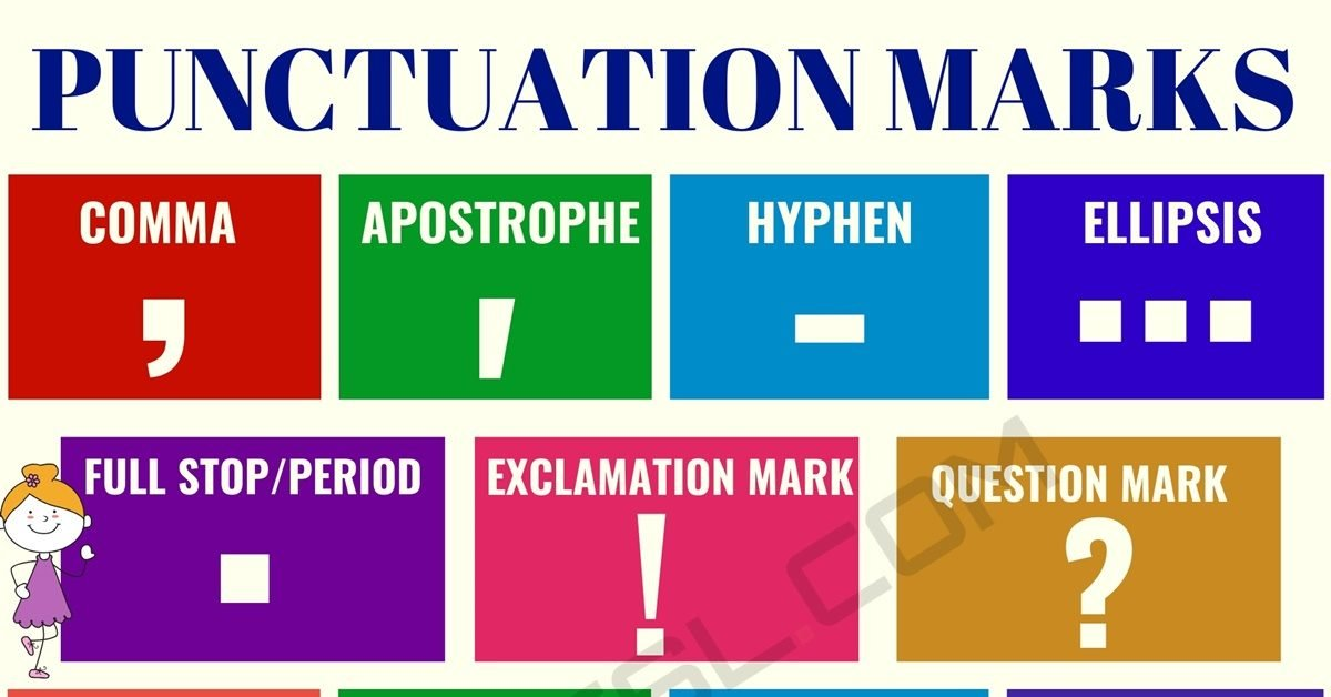 What is Punctuation? Useful Punctuation Rules & Punctuation Marks in English 1
