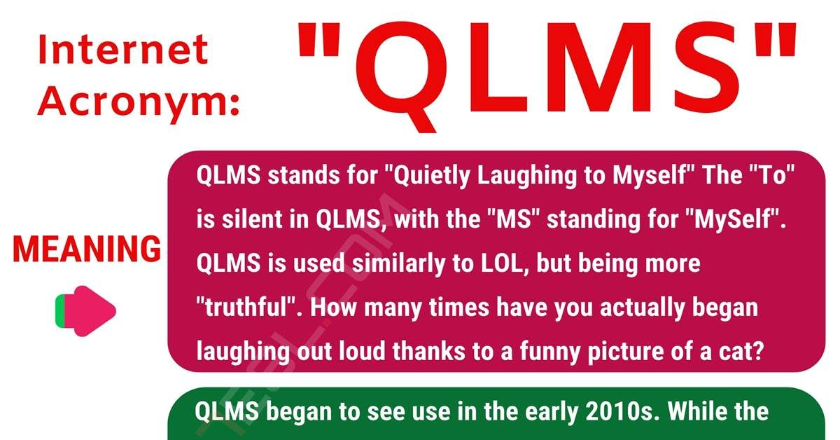 QLMS Meaning: What Does the Interesting Acronym QLMS Mean? 1