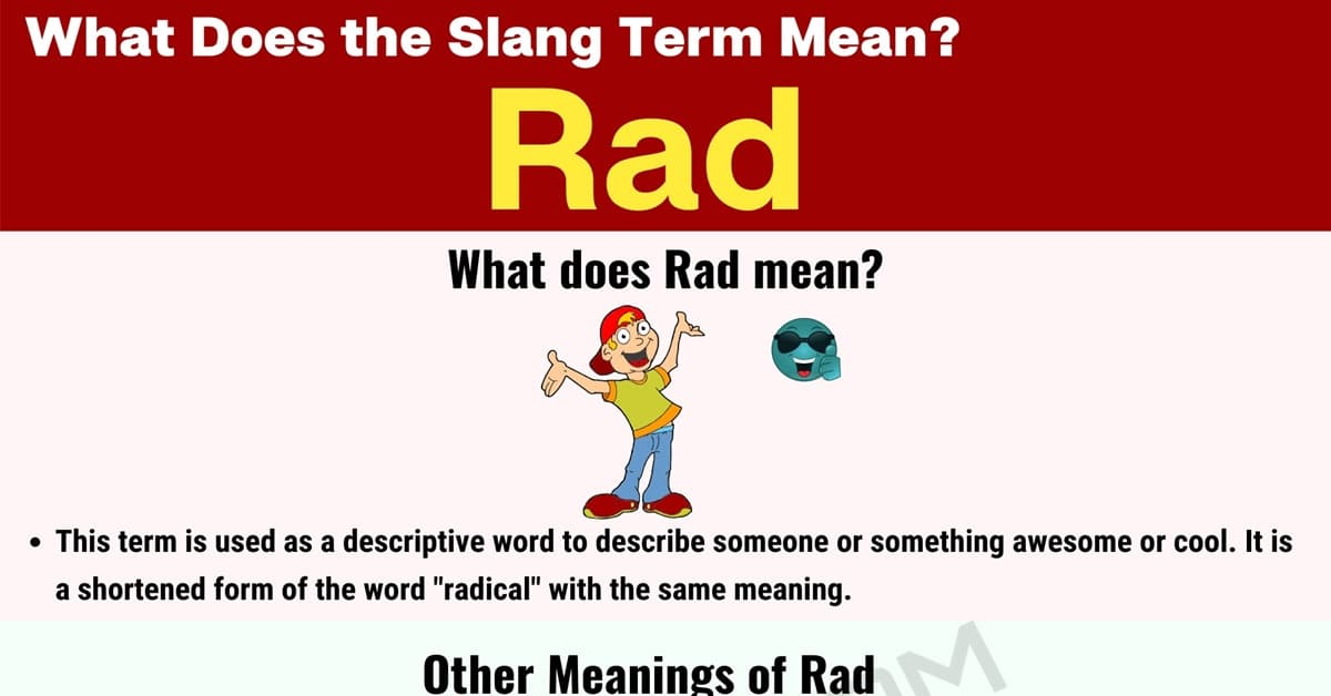 """Rad"" Meaning 
