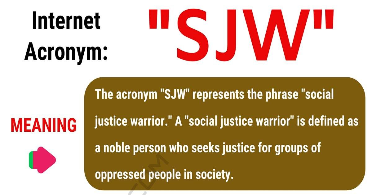 SJW Meaning: What Does SJW Mean? with Useful Conversations 1