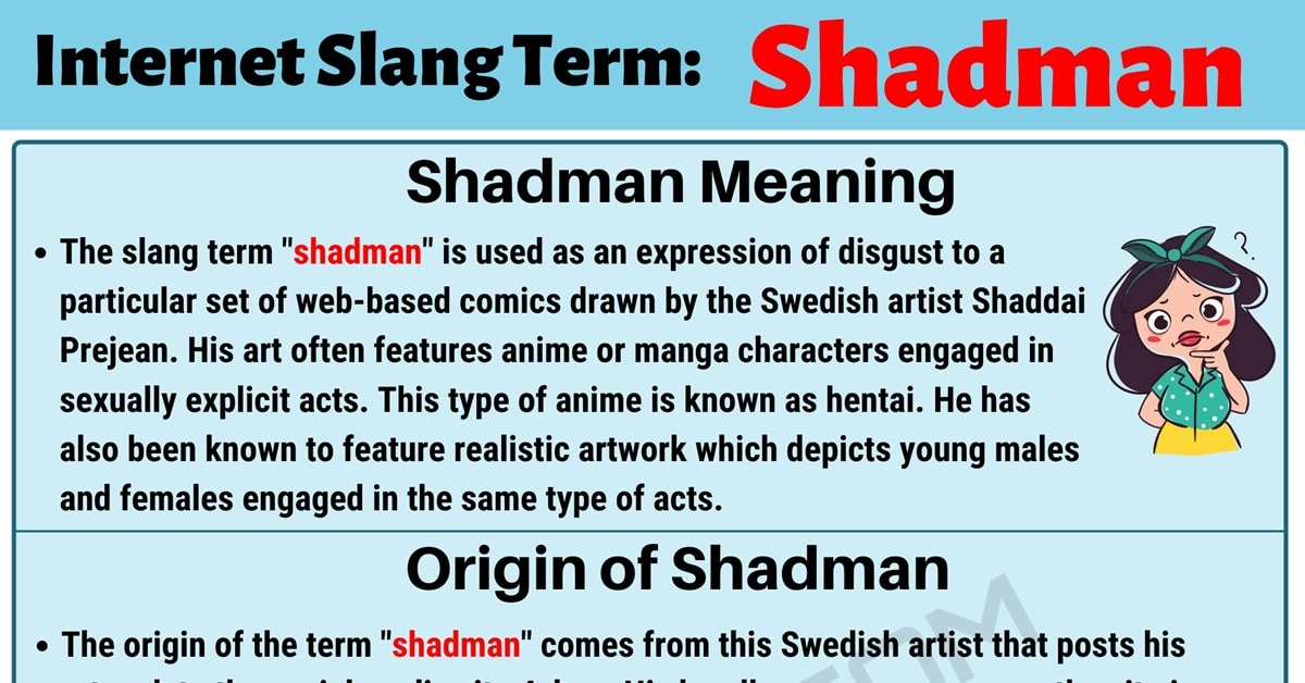 Shadman Meaning: What Does the Trendy Slang Term 'Shadman' Mean? 1