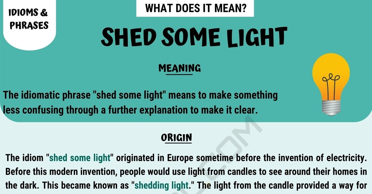 Shed Some Light