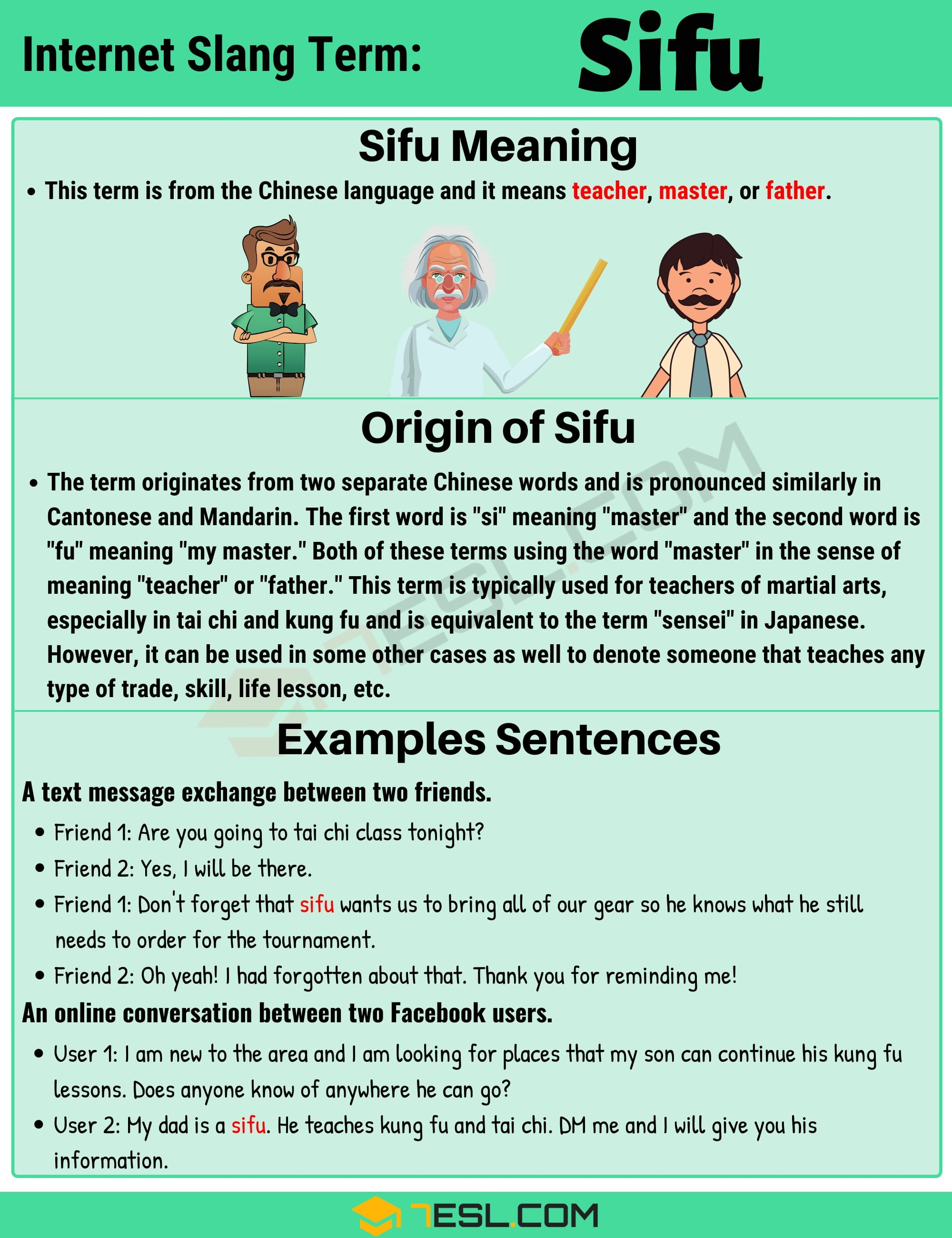 """""""Sifu"""" Meaning 