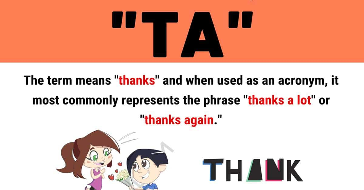 """""""TA"""" Meaning 