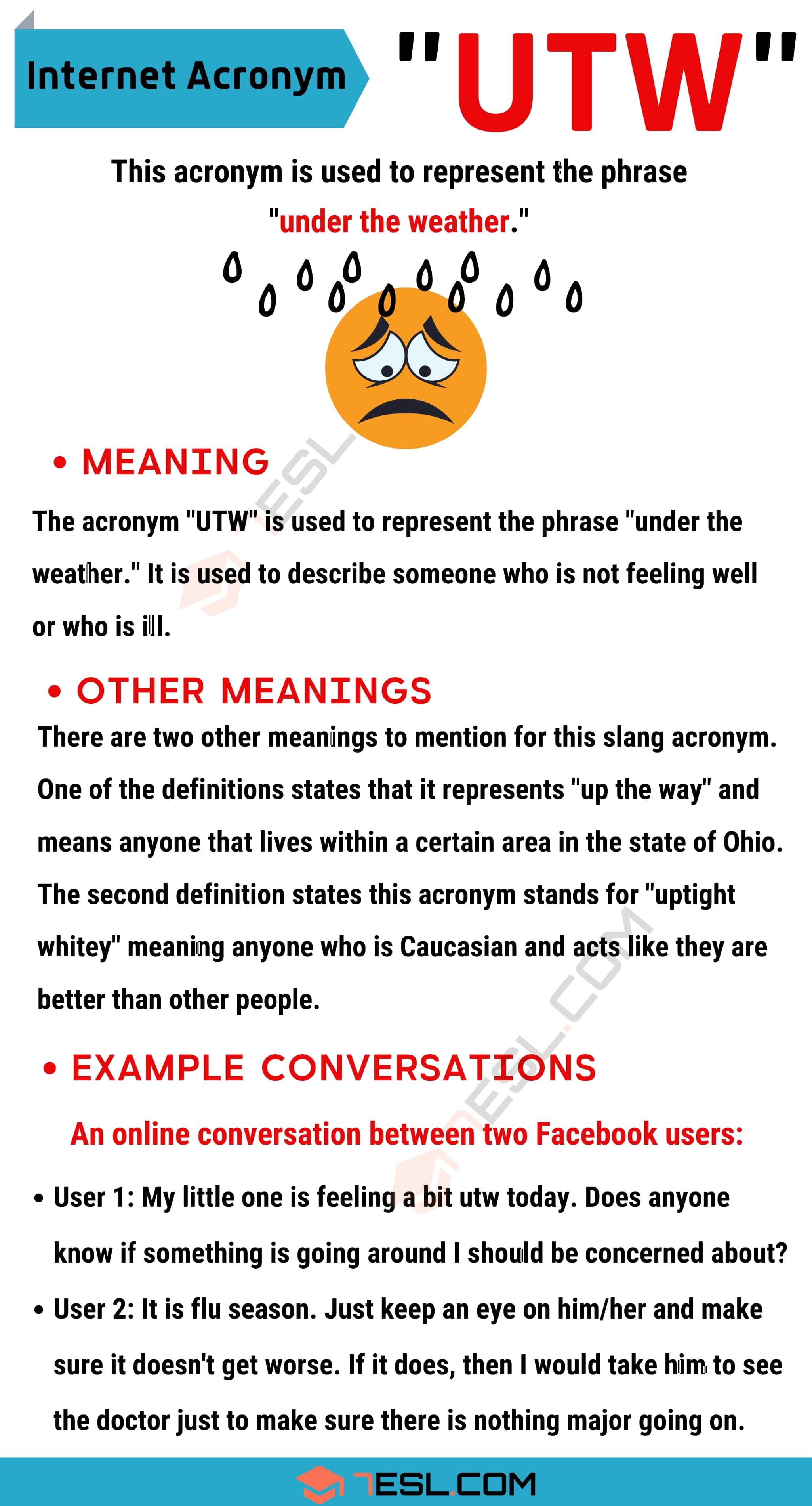 """UTW Meaning: What Does The Trendy Term """"UTW"""" Stand For?"""