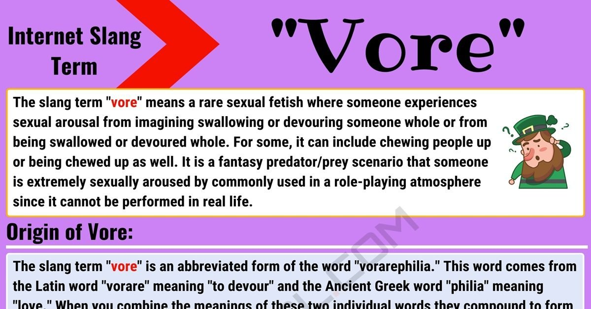 Vore Meaning: What Does Vore Mean? with Useful Conversations 1