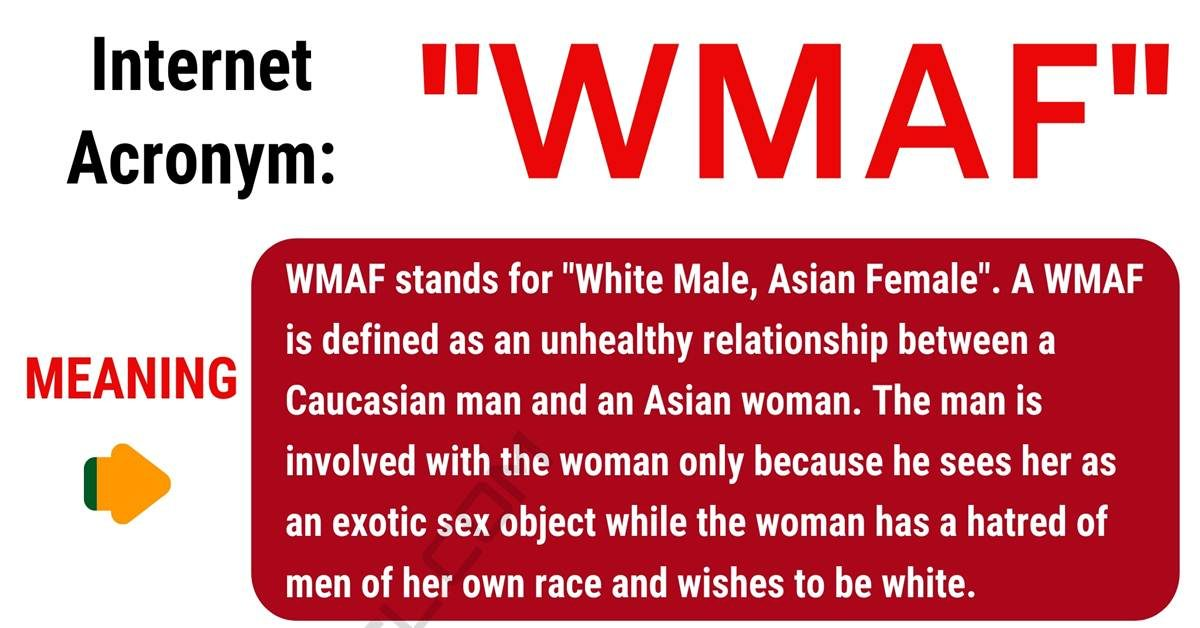 WMAF Meaning: What Does WMAF Mean and Stand For? 1