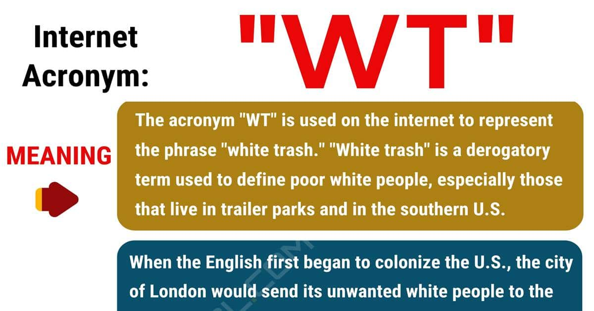 "WT Meaning: What Does ""WT"" Stand For with Useful Examples? 1"