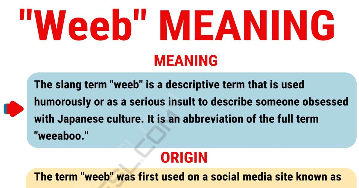 """Weeb Meaning: What in the World Does the Funny Term """"Weeb"""" Mean? 1"""