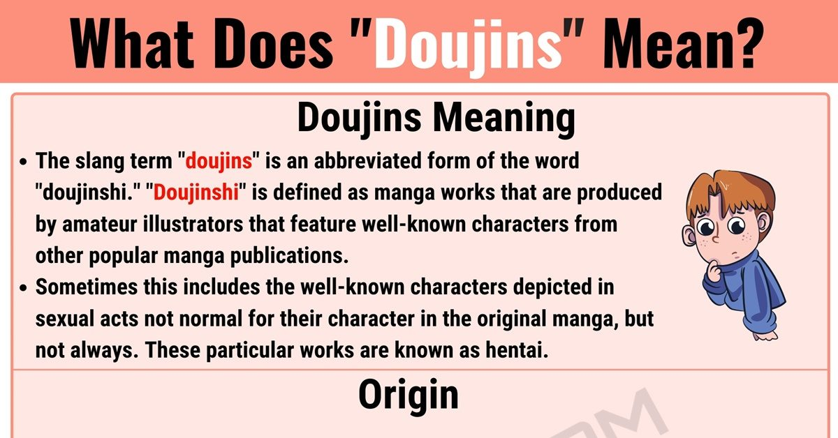 Doujins Meaning: What Does Doujins Mean? with Useful Conversations 1