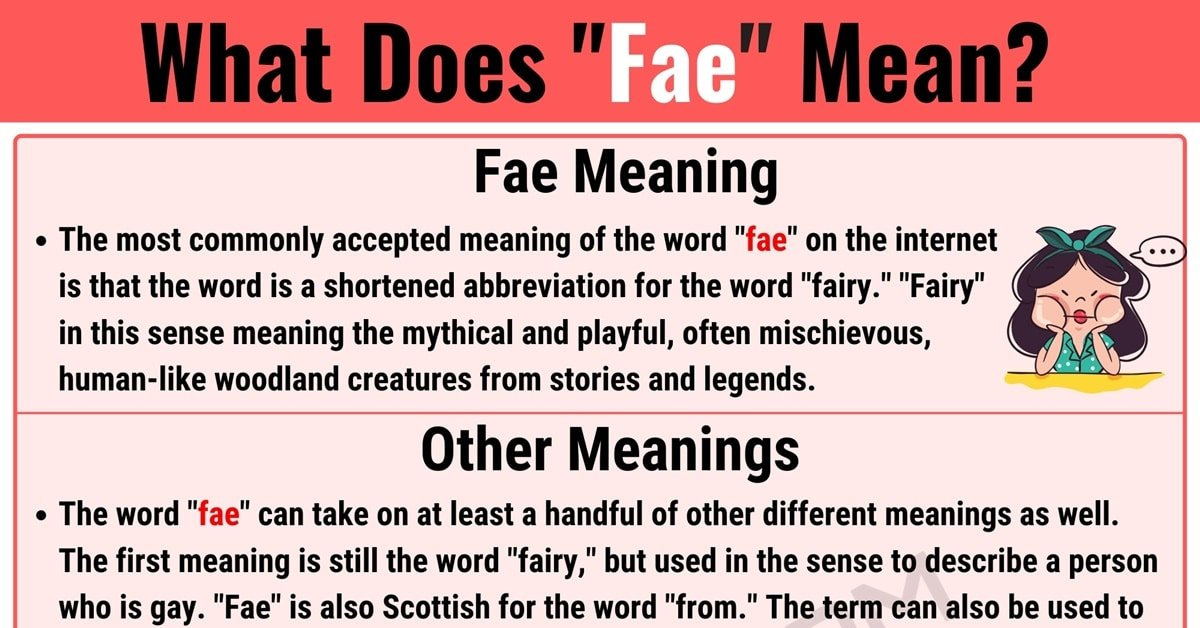 Fae Meaning with Useful Conversations in English 1