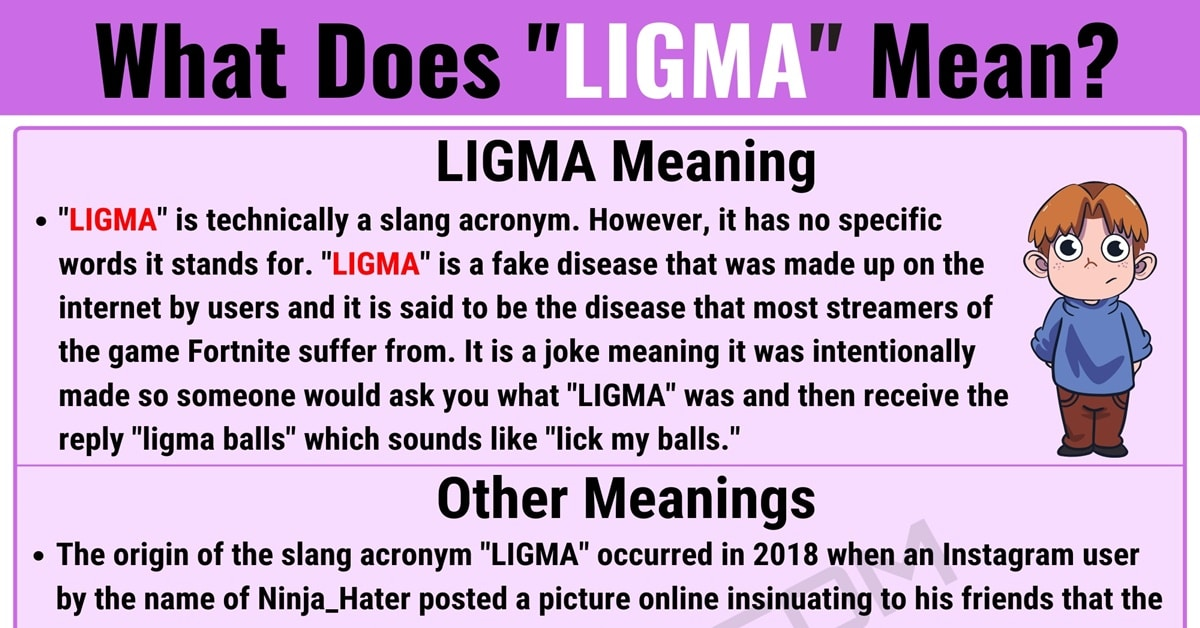 LIGMA Meaning: What this Useful Term Stands for on Social Media 1