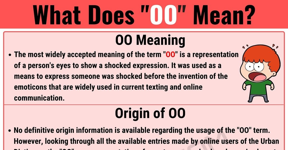 OO Meaning: What is OO in Internet Slang? with Useful Examples 1