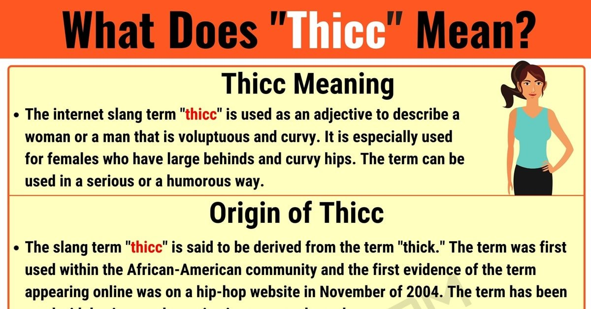 """Thicc Meaning: What Does The Term """"Thicc"""" Mean? 1"""