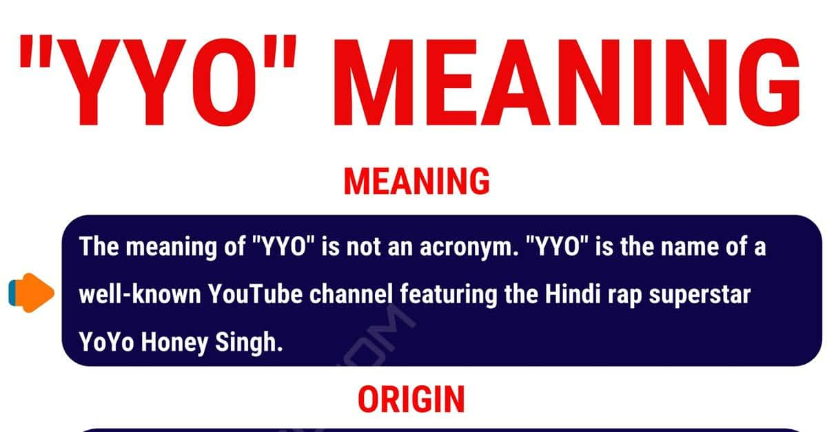 YYO Meaning: What Does YYO Mean? (with Conversation Examples) 1
