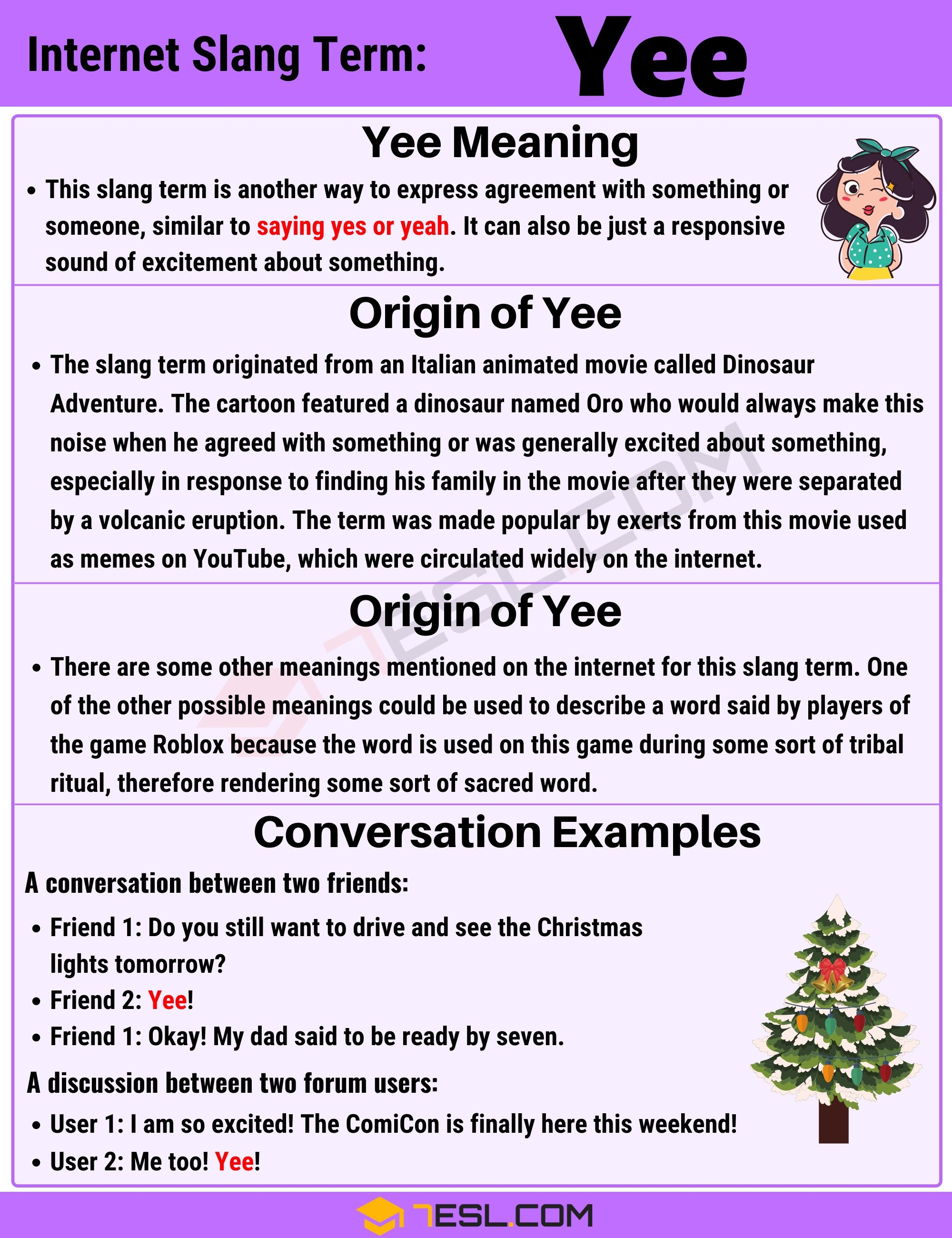 """Yee"" Meaning 