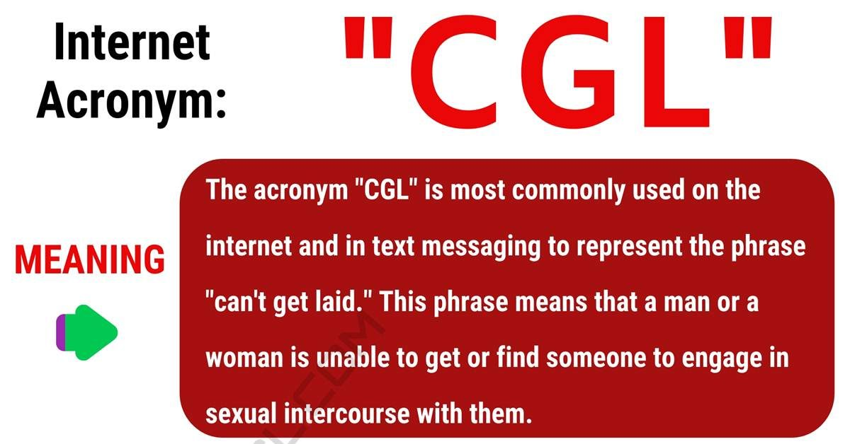 CGL Meaning: What Does CGL Stand For? (with Useful Examples) 1