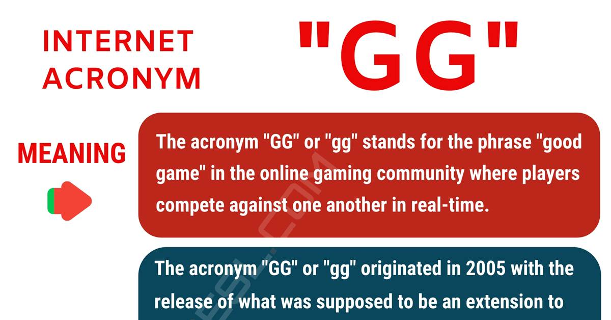 GG Meaning: What Does GG Mean? with Useful Conversations 1