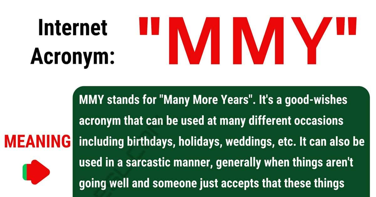 "MMY Meaning: Do You Know the Happy Acronym ""MMY"" Mean? 1"