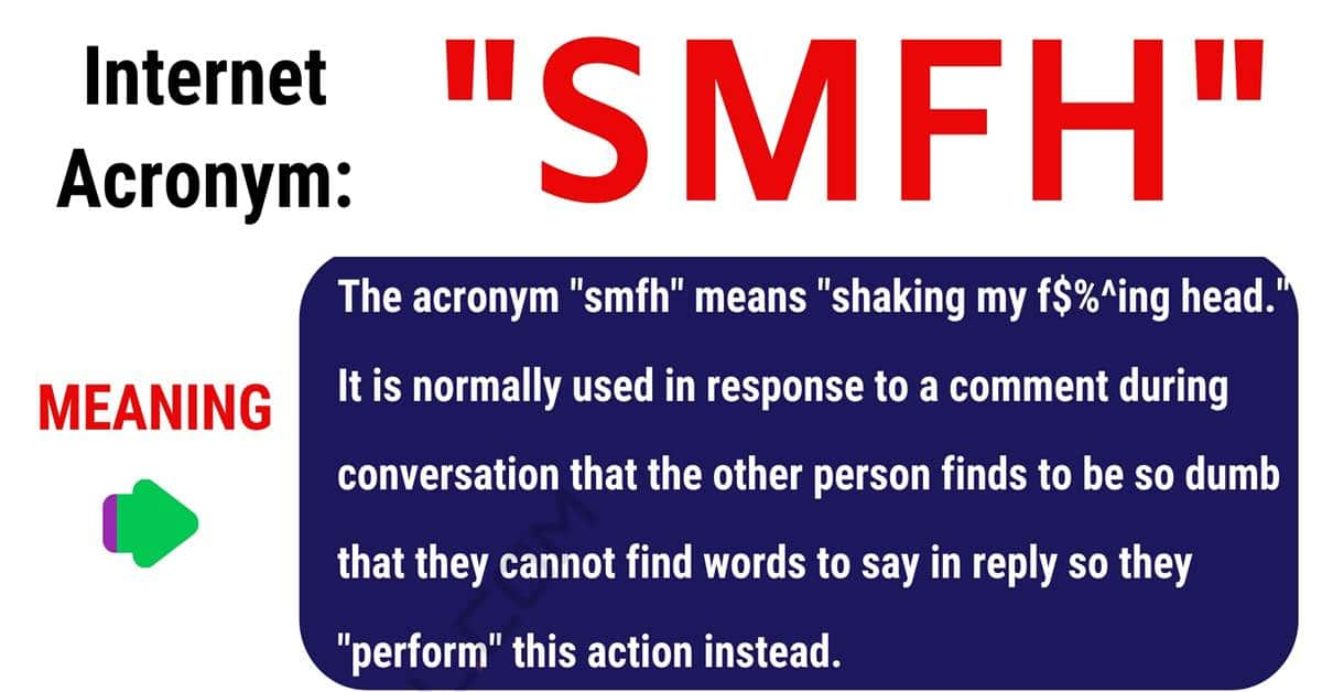 SMFH Meaning: What Does SMFH Stands For? with Useful Examples 1