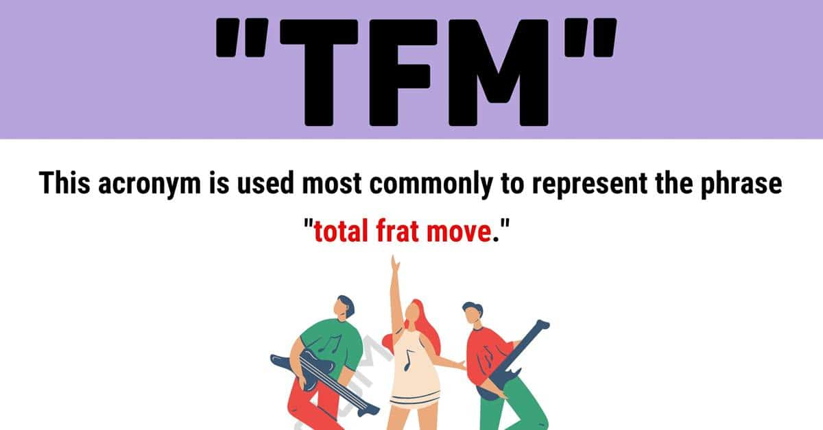 """TFM Meaning: What Does the Term """"TFM"""" Mean and Stand for? 1"""