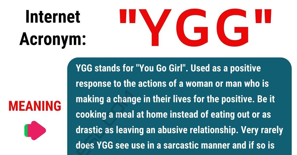 YGG Meaning: What Does the Useful Acronym YGG Stand For? 1