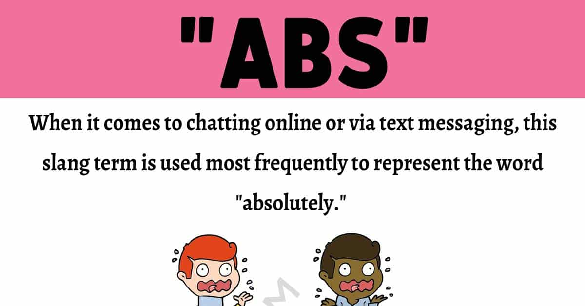 ABS Meaning: What Does ABS Mean and Stand for? 1
