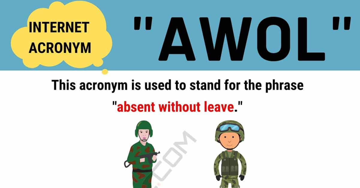 """""""AWOL"""" Meaning 