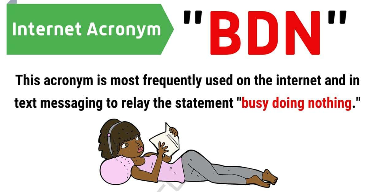 """BDN"" Meaning 