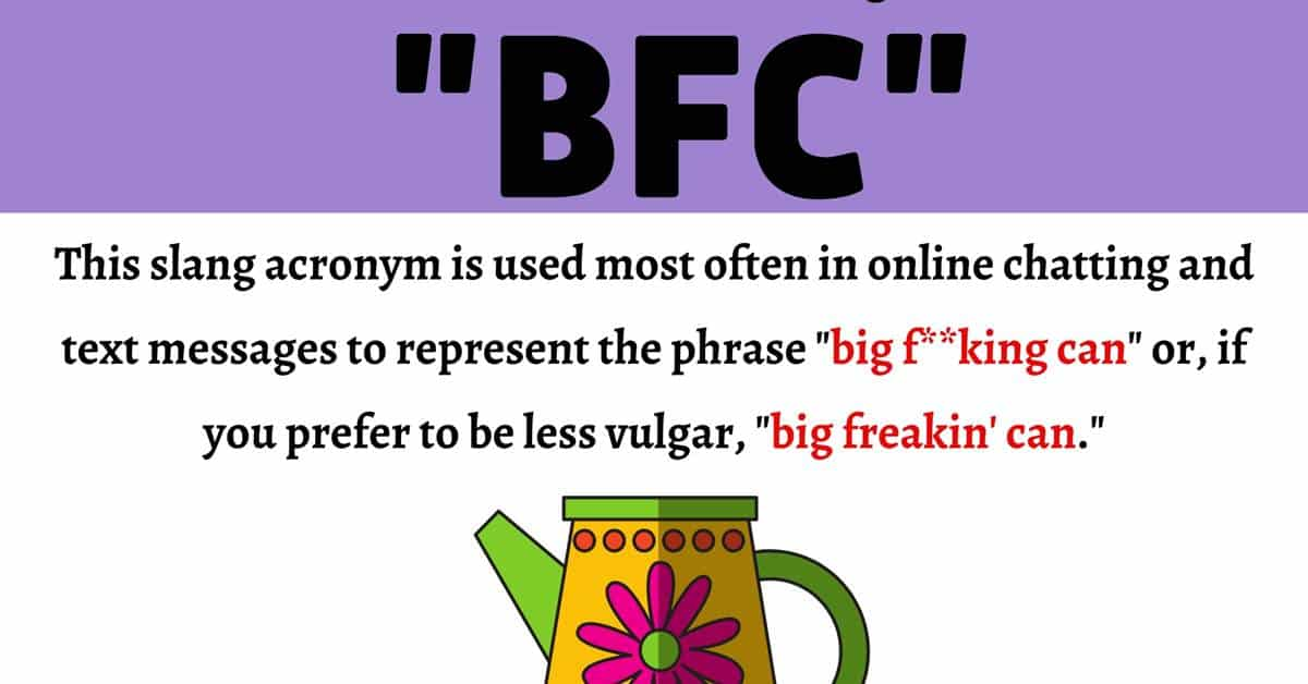 """BFC Meaning: What Does This Slang Acronym """"BFC"""" Stand For? 1"""