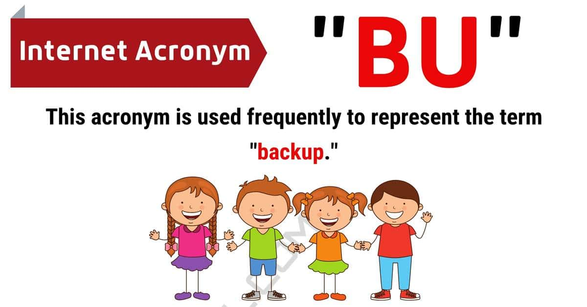 """""""BU"""" Meaning 
