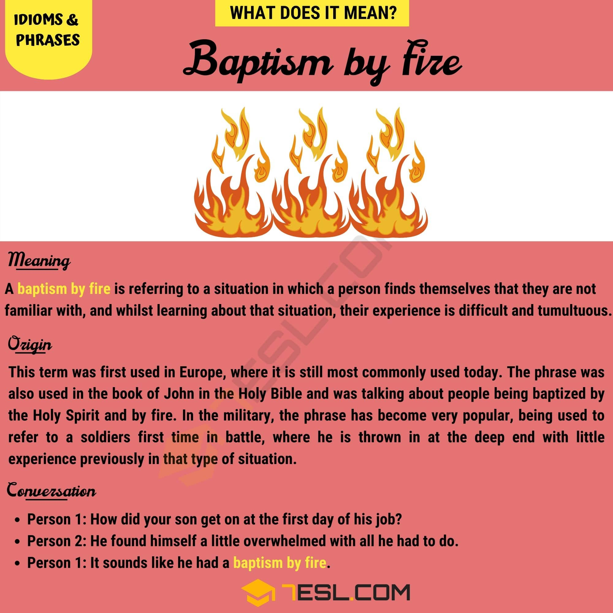 Baptism by Fire