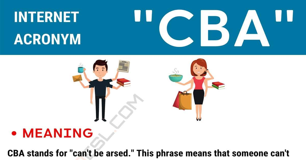 """""""CBA"""" Meaning 