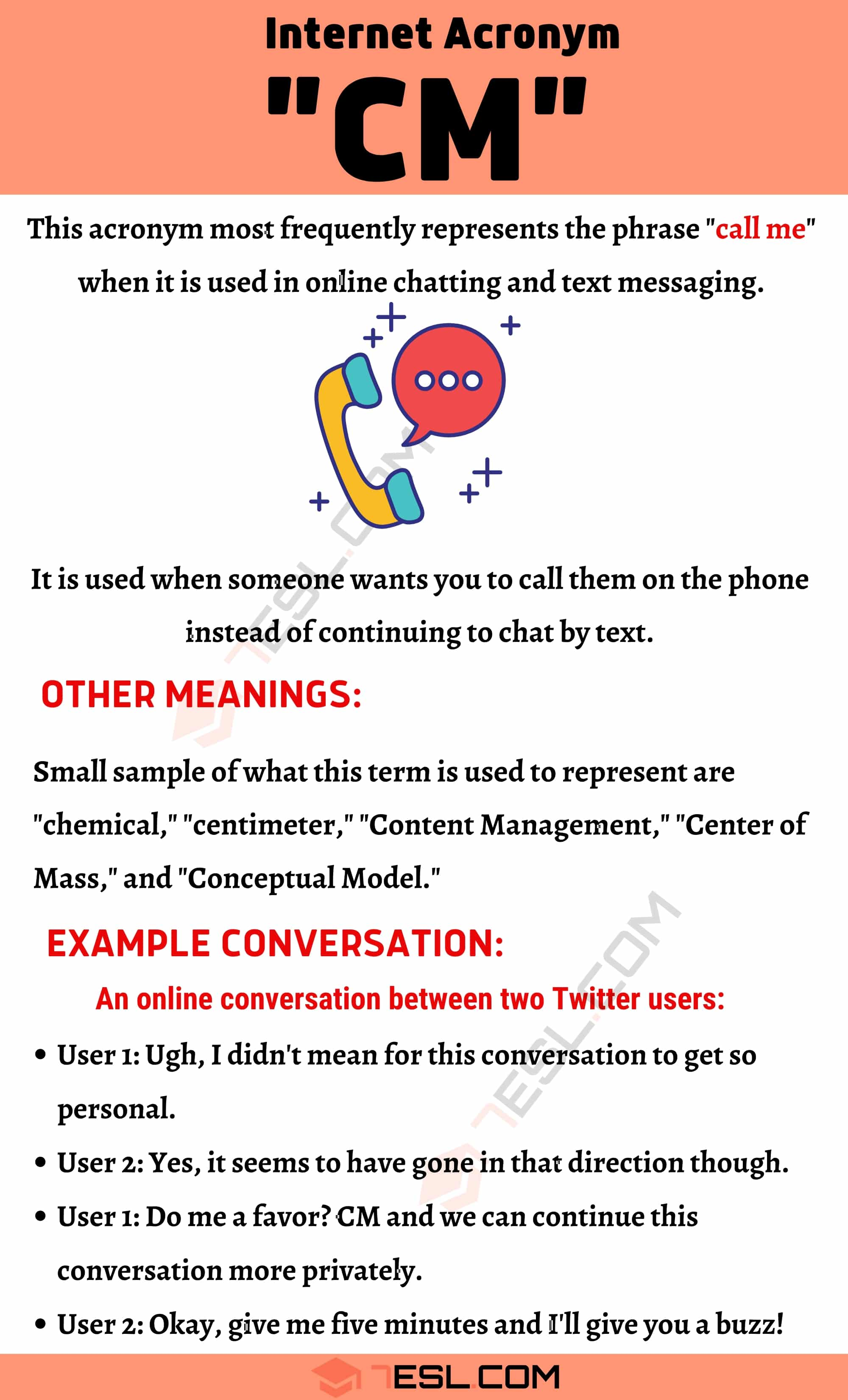 """CM Meaning: How to Use The Popular Acronym """"CM"""" Correctly?"""