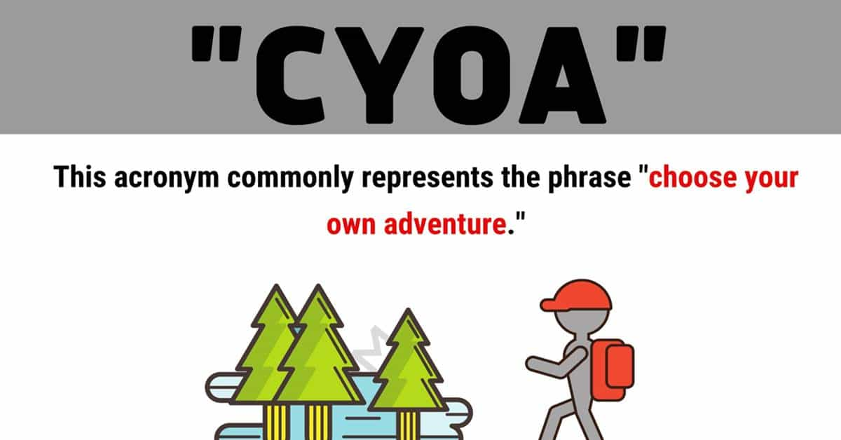 """""""CYOA"""" Meaning 
